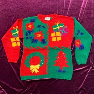Vintage 80s Ugly Christmas Sweater